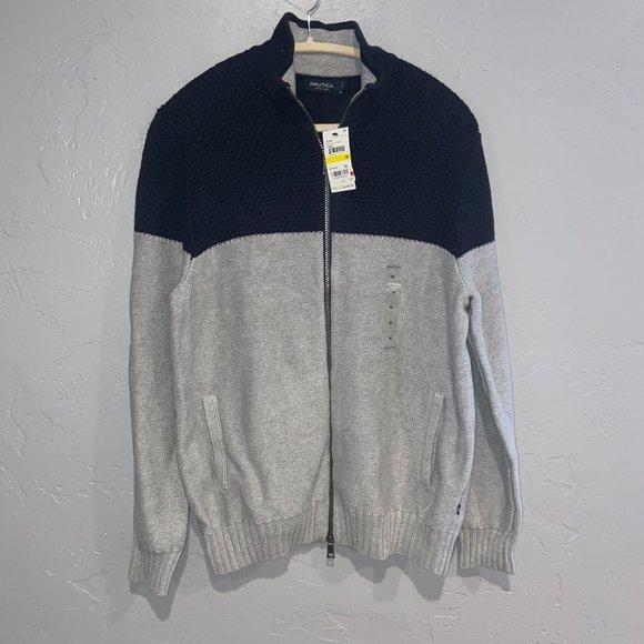 Nautica Full Zip Sweater -